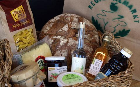 Regionalmarkt - Lieferung regionaler Lebensmittel