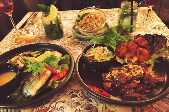 shami vietnamesisches Restaurant Hauptgerichte