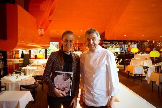 Tantris Sternerestaurant Hans Haas mit Bianca Murthy