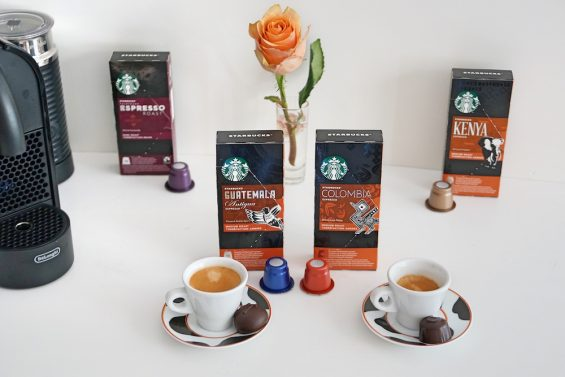 Espressokapseln bei Starbucks fuer 4 Espressosorten
