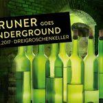 """Vorankündigung: """"Gruner goes Dreigroschenkeller"""" – die schräge Weinparty"""