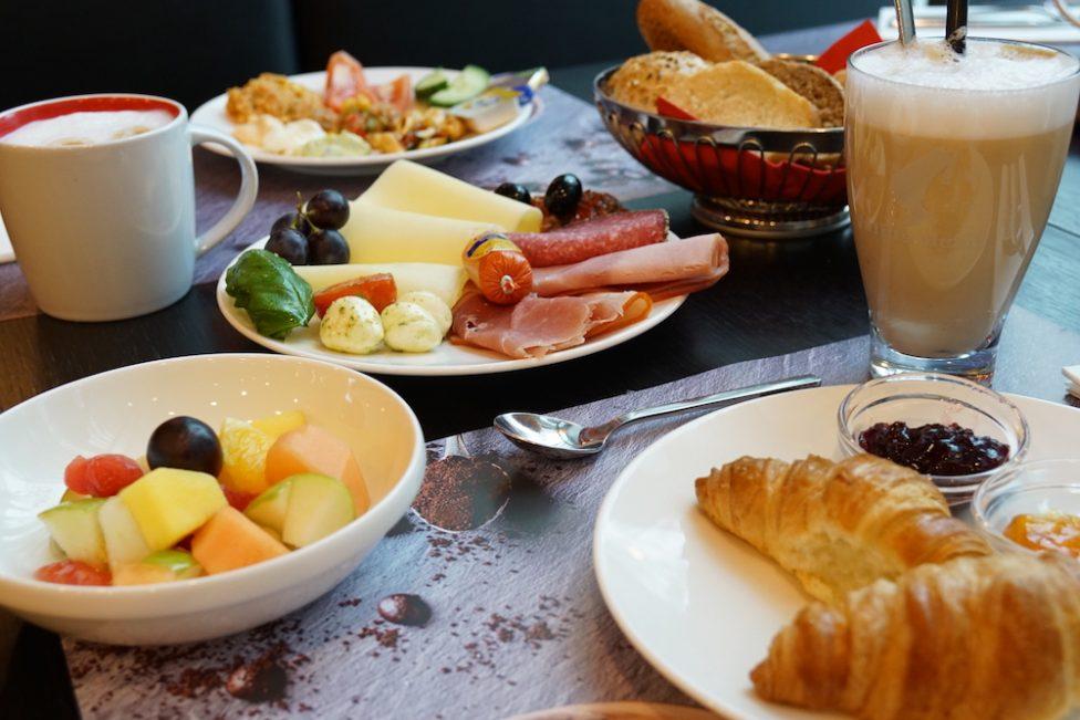 Frühstück Holiday Inn Westpark