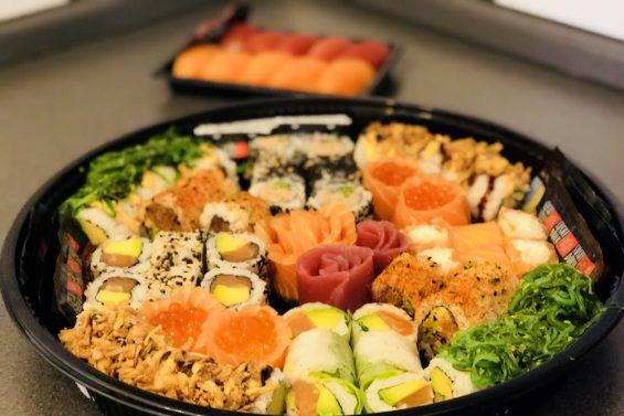 Sushi Daily REWE Sushiplatte 2