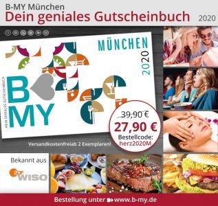 B-MY Muenchen 2020 Gutscheinbuch 1