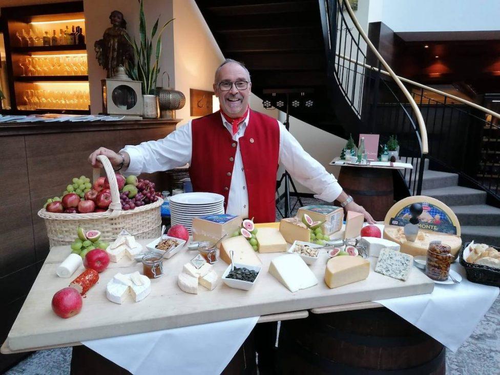 Hotel Schloss Lebenberg Tiroler Käse-Degustationsmenü