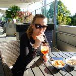 Afterwork Sundowner in der Biker's Lodge in der BMW Welt München