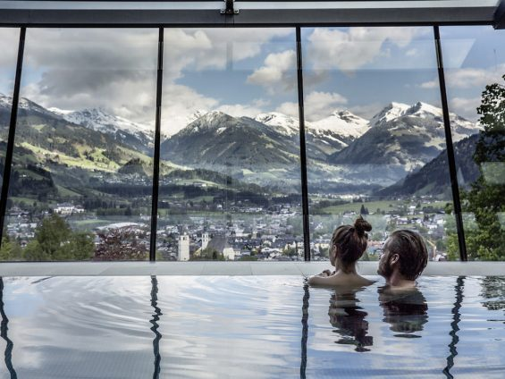 Hotel Schloss Lebenberg Kitzbuehel Panorama Pool