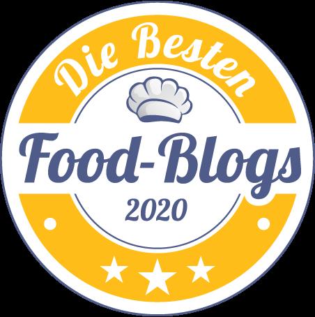 Beste Foodblogs 2020 Logo
