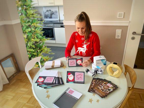 Weihnachtskarten drucken vistaprint Biancas Blog Titel 2