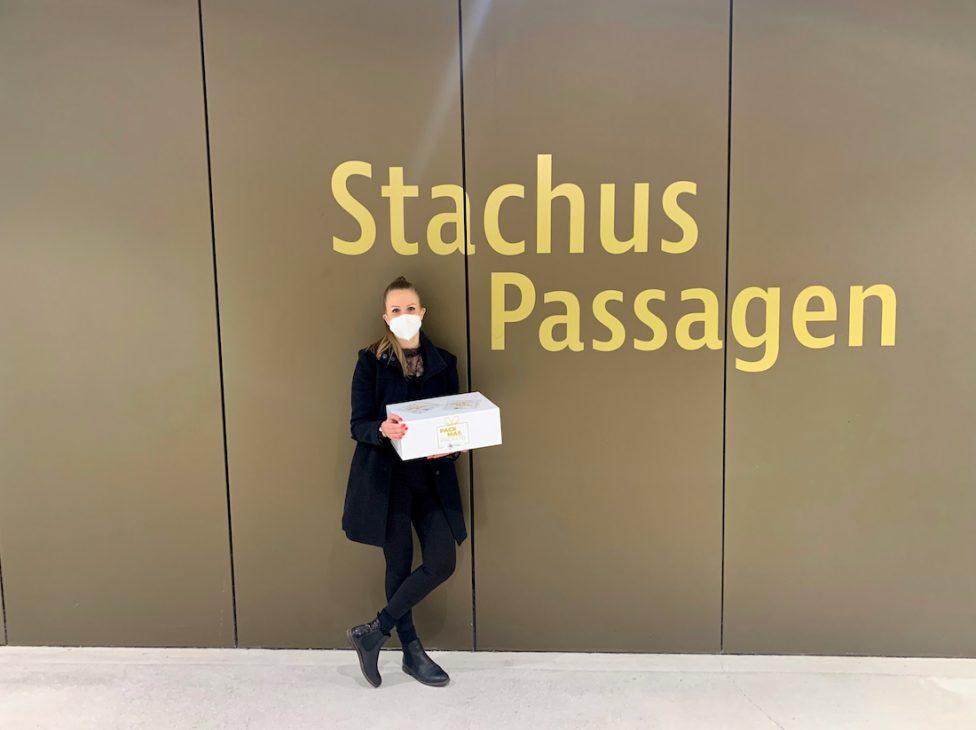 Stachus Passagen Karlsplatz Pack mas Packerl Aktion 6