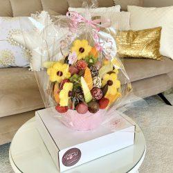 Delicious Art Obststraeuße Blumenstrauß aus Obst Muenchen 2