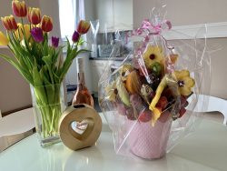 Delicious Art Obststraeuße Blumenstrauß aus Obst Muenchen 3