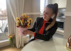 Delicious Art Obststraeuße Blumenstrauß aus Obst Muenchen 5