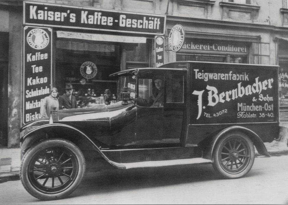 Bernbacher Nudeln Eiernudeln Hohenbrunn Lieferwagen_1908