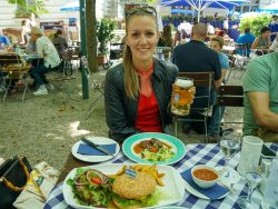 Hofbraeukeller Biergarten Greenforce vegane Schmankerl -13