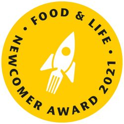 FOOD & LIFE 2021 Newcomer Award Logo